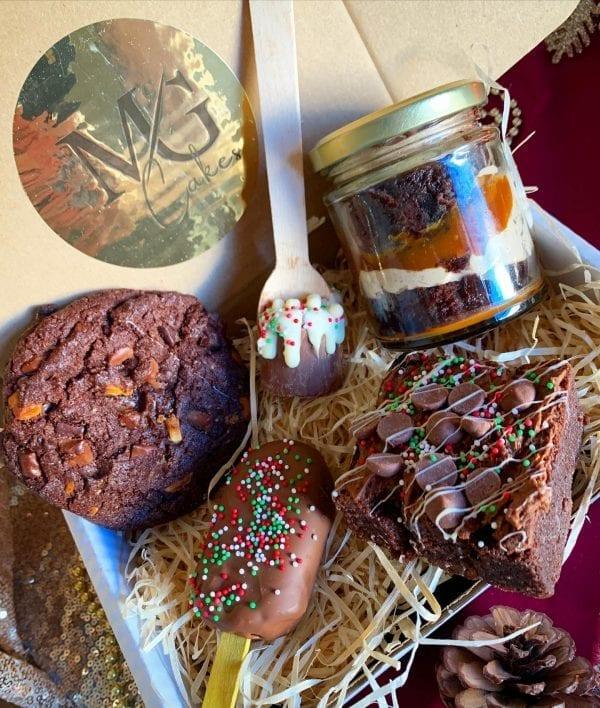McG Cakes Small treat box chocolate